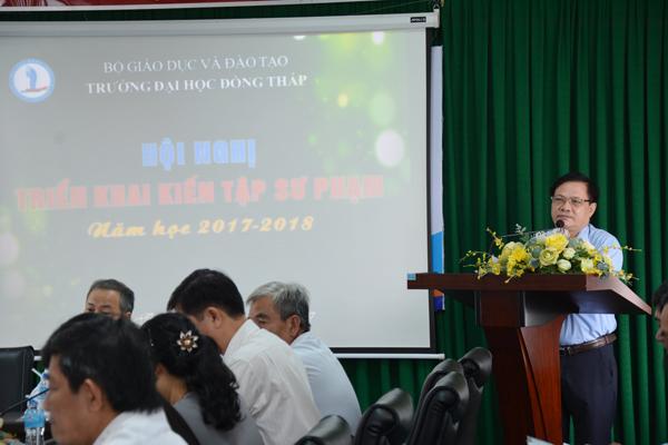 Hội nghị triển khai kiến tập sư phạm năm học 2017 – 20182