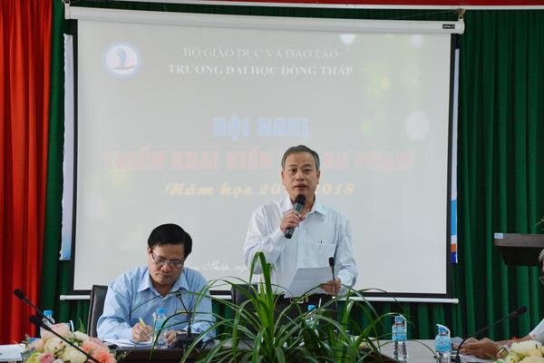 Hội nghị triển khai kiến tập sư phạm năm học 2017 – 20188