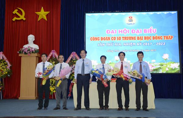 Đại hội đại biểu Công đoàn cơ sở Trường Đại học Đồng Tháp lần thứ XIX, nhiệm kỳ 2017 - 202210